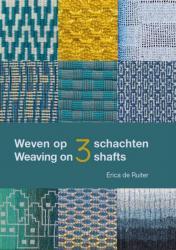 DTP-project: Weven op 3 schachten, boek met 138 pagina's